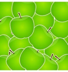 Apples sweet background vector
