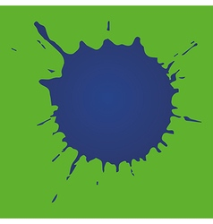 Blue stain vector