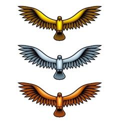 Metal Hawks vector image vector image