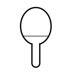 paddle vector image vector image