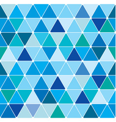 Winter triangle pattern 21 vector