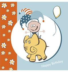 Birthday fun vector image