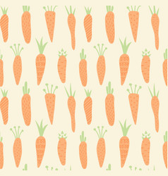 carrots pattern vector image