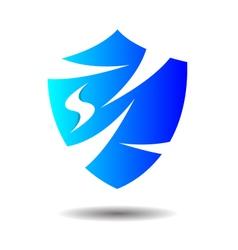 Exclusive insurance shield logo icon vector