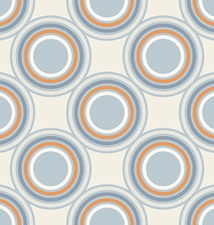 Geometry pattern circle seamless ornament vector