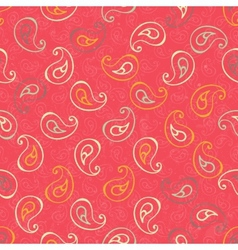 Paisley seamless print vector image vector image