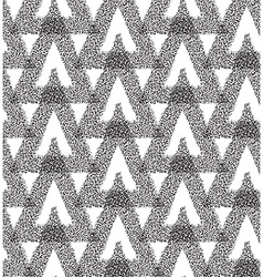 Triangle abstract chaotic pattern vector