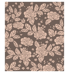 Rose pattern background vector