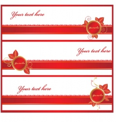 giftwrap ribbons vector image