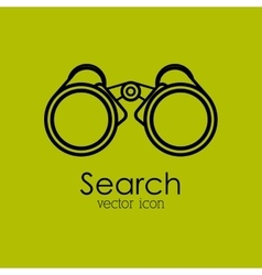 Search isolated icon design vector