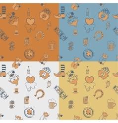 Saint patricks day seamless pattern vector
