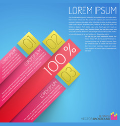Parts of project business infographics vector
