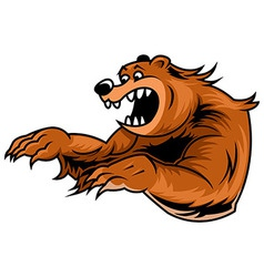 Roar bear vector