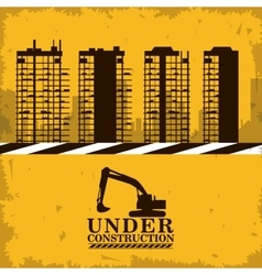 Under construction and repair design vector