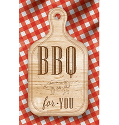 Bread cutting light bbq vector