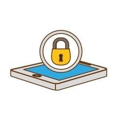 Digital or internet securityicon image vector