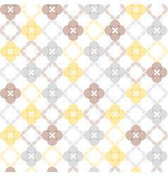Seamless pattern classical geometrical texture vector
