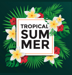 Tropical poster 3 vector