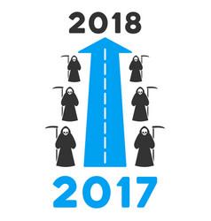 2018 scytheman future road flat icon vector