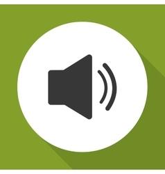 Volume icon design vector