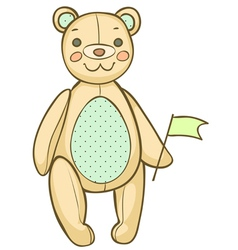Soft teddybear vector