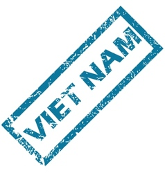 Viet nam rubber stamp vector