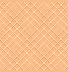 Wafer seamless pattern background ice cream cone vector