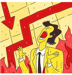 Modern hell vector image