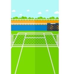 Background of tennis court vector