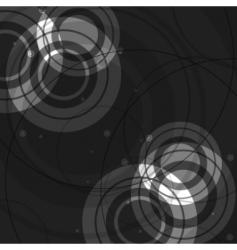 abstract circles design vector image vector image