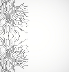 Circuit board pattern vector