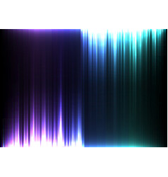 light stream of purple and blue upside down vector image