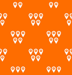 pointer marks pattern seamless vector image