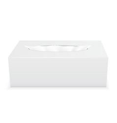 tissue box 02 vector image vector image