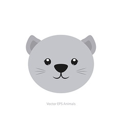 Isolated animal vector
