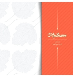 Autumn typographic vector image