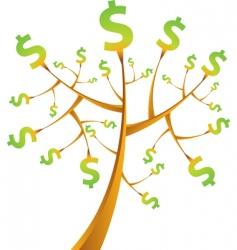 money tree vector image vector image