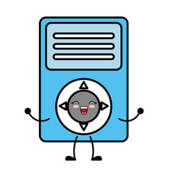 Music player device icon vector