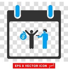 Arrest calendar day eps icon vector