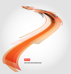 Abstract background element in red and orange vector