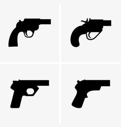 flare guns vector image vector image