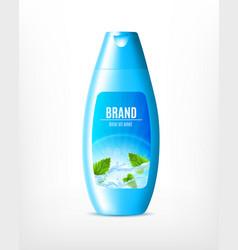 Moisturizing shampoo for hair vector