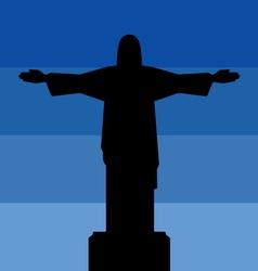 Rio de jeneiro icon sky vector image vector image