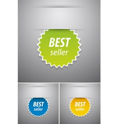 Best seller tag vector