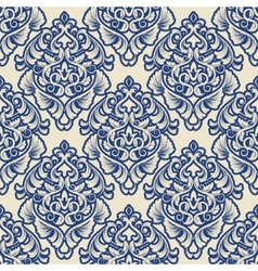 Damask wallpaper vector