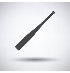 Baseball bat icon vector