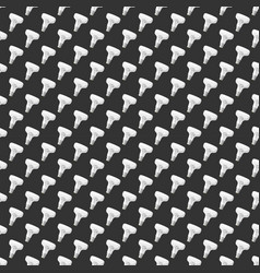 cartoon lamps light bulb seamless pattern vector image vector image
