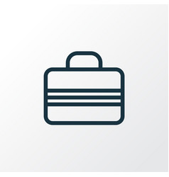 Case outline symbol premium quality isolated vector