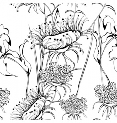 floral graphic design vector image vector image