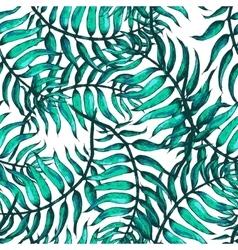 Palm tree sketch a vector